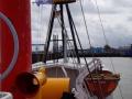 Hinaus auf die Elbe